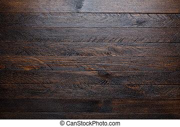 Rustica tabla de madera, vista de fondo