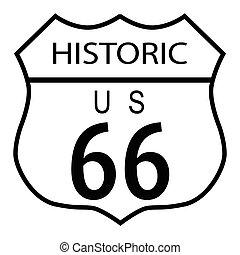 Ruta 66 histórica