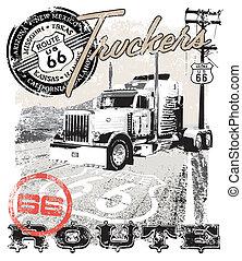 Ruta de camiones 66 Arizona