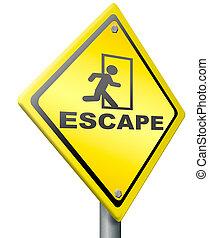 ruta, escape