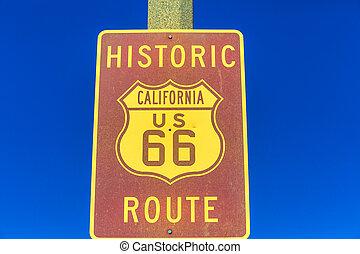 Ruta histórica 66