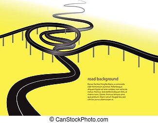Ruta o tráfico conceptual