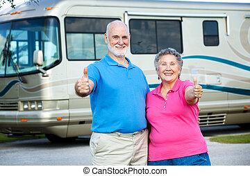 RV seniors - feliz retiro