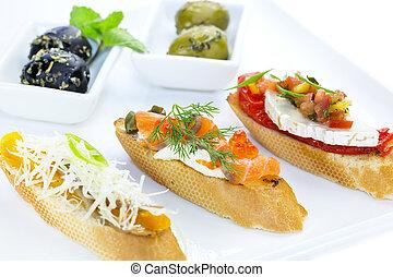 sándwiches, español