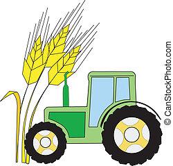 símbolo, agricultura