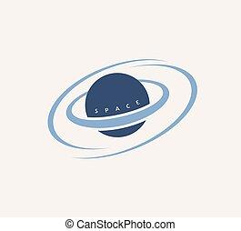 símbolo, astral, espacio, universo