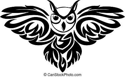 símbolo, búho