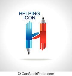 Símbolo de ayudar