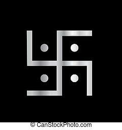 Símbolo de hinduismo esvástica