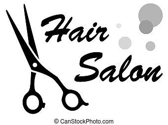 Símbolo de peluquería