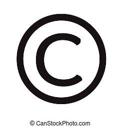 símbolo, diseño, icono, propiedad literaria, ilustración