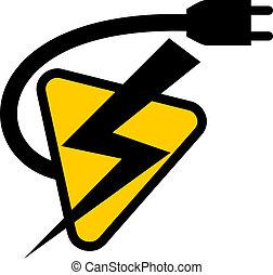 símbolo, eléctrico