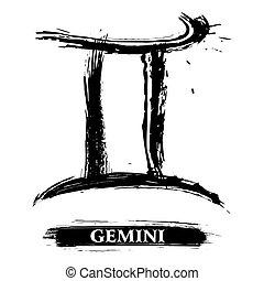 símbolo, géminis