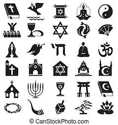 símbolo, religioso