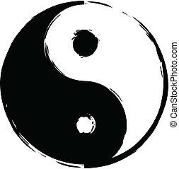 símbolo, yin-yang