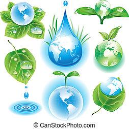 símbolos, concepto, ecología
