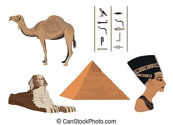 símbolos, egipto