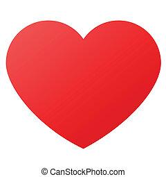 símbolos, forma corazón, amor