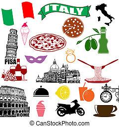 Símbolos italianos tradicionales
