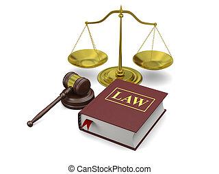 símbolos, ley