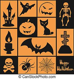 Símbolos para el Halloween