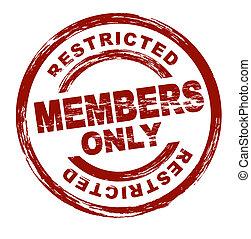 Sólo miembros