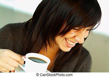 Sólo una taza de café