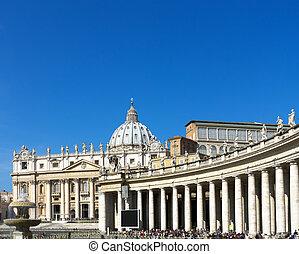 s., basílica, peter, vaticano