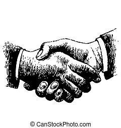 sacudarir las manos
