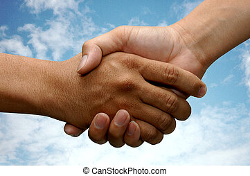 Sacude la mano