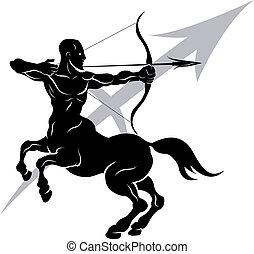 Sagitario zodiaco signo de astrología