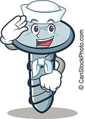 Sailor tornillo estilo dibujo animado