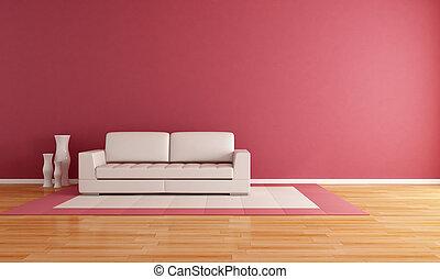 Salón de estar Minimalista