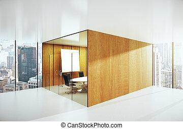 Sala de conferencias abstracta
