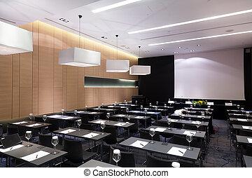 Sala de conferencias de prensa