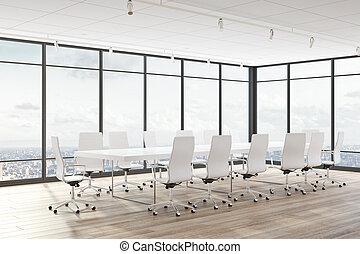 Sala de conferencias moderna