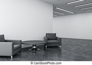 sala de espera, contemporáneo