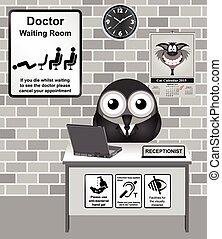 Sala de espera del doctor