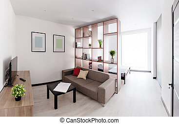 Sala de estar espaciosa