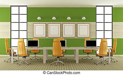 Sala de juntas moderna