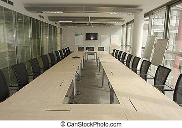 Sala de juntas vacía