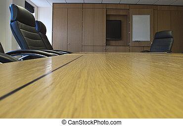 Sala de juntas, vacía