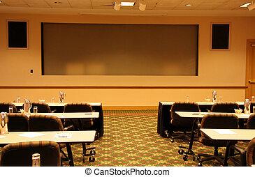 Sala de presentación
