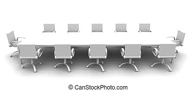 Sala de reuniones blancas 2