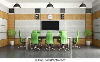 Sala de reuniones contemporánea