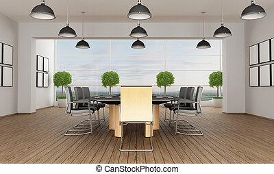 Sala de reuniones contemporáneas