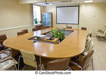 Sala de reuniones de negocios en la oficina