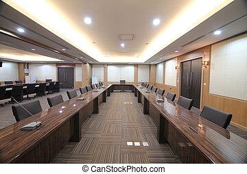 Sala de reuniones de negocios