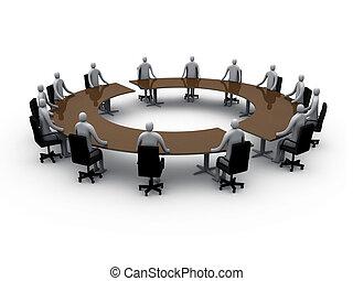 Sala de reuniones número cinco