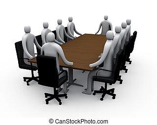 Sala de reuniones número uno